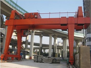 Çin MG model heavy duty Double girder gantry crane 20 ton Tedarikçi