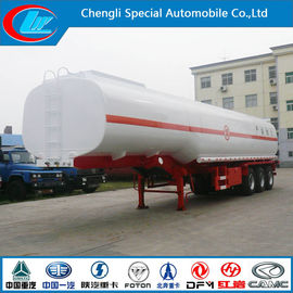 Çin Stainless Steel 30000-80000 Liters Fuel Tank Trailer, Oil Tanker Semi Trailer Tedarikçi