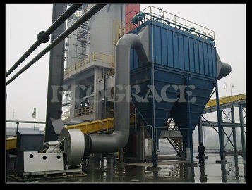 Çin Long Bag Pulse Jet Dust Collector Equipment For Chemical Industry / Waste Incinerator Tedarikçi