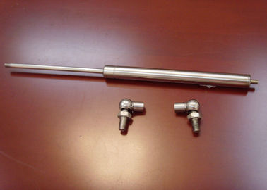 Çin 316 Stainless Steel Gas Springs / Gas Strut with Ball Joint, Metal Ball Sockt End Fitting Fabrika