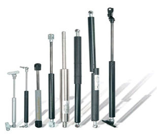 Çin Stainless steel end fitting, chrome plated Stainless Steel Gas Springs / Struts, OEM Fabrika